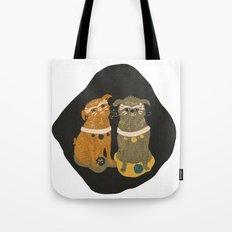 Fu Pugs Tote Bag