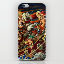 Party Boat to Atlantis iPhone Skin