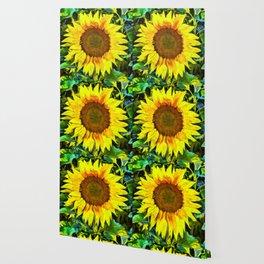 The Sunflower Wallpaper