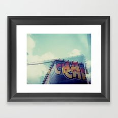 Cha Cha Framed Art Print