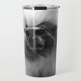 tamarin with a crown of cotton Travel Mug