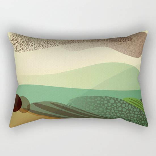 Sky of Birds. Rectangular Pillow