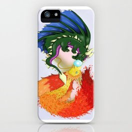 The Dragon And The Phoenix iPhone Case