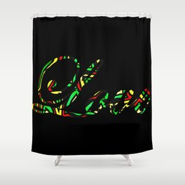 Imprinted Love Shower Curtain