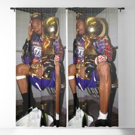 Kobe#Bryant Celebration with Trophies in Bathroom Canvas Wall Art ,Basketball Canvas Frame Blackout Curtain