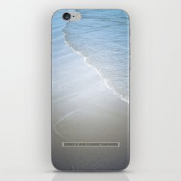 Eloquence iPhone Skin