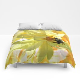 Busy Bumble Bee Comforters