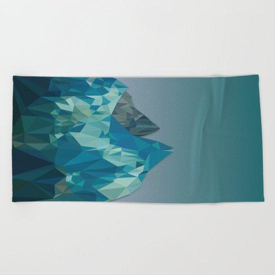 Night Mountains No. 36 Beach Towel