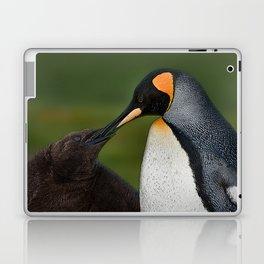 Chick feeding Laptop & iPad Skin