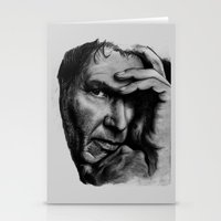 ford Stationery Cards featuring Harrison Ford by Sophie-Jay