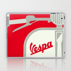 MY VESPA - FROM ITALY WITH LOVE - RED Laptop & iPad Skin