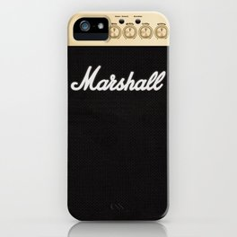 We are Marshall iPhone Case
