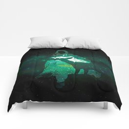 Snape and the Doe Comforters