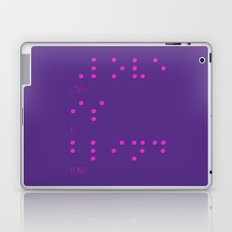 Love is blind (Braille)  Laptop & iPad Skin