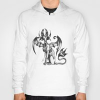 sphynx Hoodies featuring Sphynx by STiCK MONSTER iNK