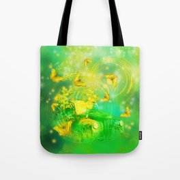 Dream wreck with butterflies Tote Bag