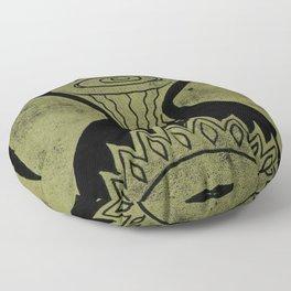 Healing (Black) Floor Pillow