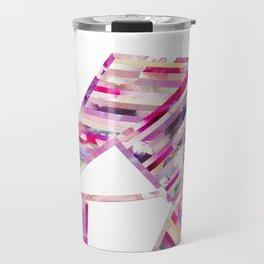 LINEA 011 Abstract Collage Travel Mug