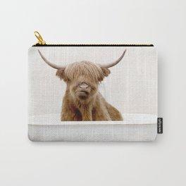 Highland Cow Bath (c) Carry-All Pouch