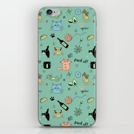 90% Cats iPhone Skin