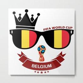 FIFA WORLD CUP 2018 - BELGIUM Metal Print