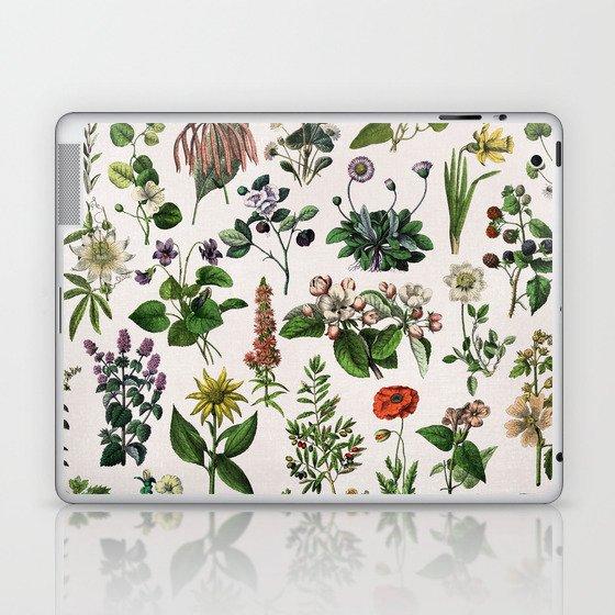 vintage botanical print Laptop & iPad Skin