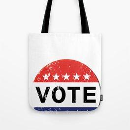 vintage political  retro Tote Bag