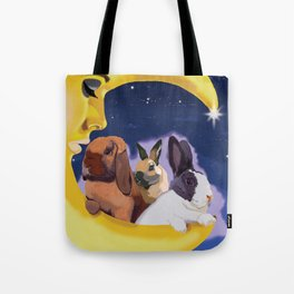 Once Upon A Moon Tote Bag