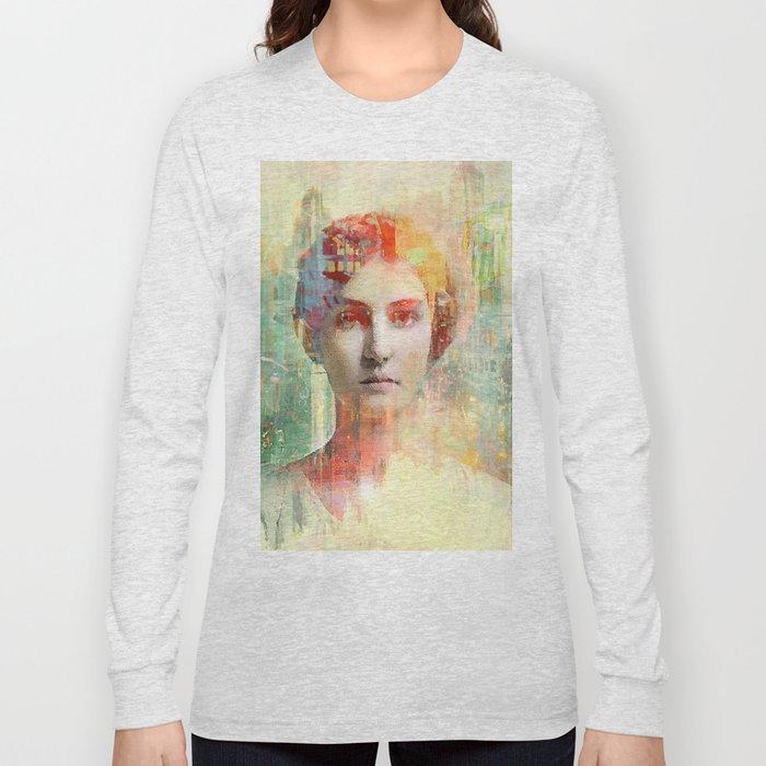 A simple girl Long Sleeve T-shirt