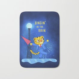 Singin' in the rain Bath Mat