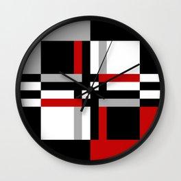Geometric pattern 7 Wall Clock
