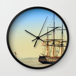 Sail Boston - Oliver Hazard Perry Wall Clock