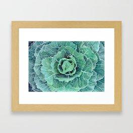 Fall Kale Painting Framed Art Print