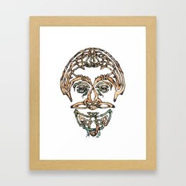 Green Man Framed Art Print