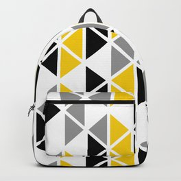 Triangular Vitrail Mosaic Pattern V.01 Backpack