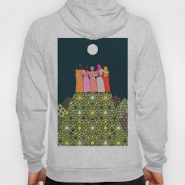 Sisterhood under the full moon Hoody
