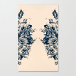 Soft Lines(S) Canvas Print