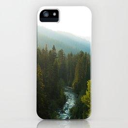 Teanaway River iPhone Case