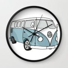 VW Camper Wall Clock
