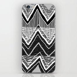 Sunchoke #5 // Black + White Version iPhone Skin
