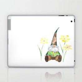 Gnome & Flowers Laptop & iPad Skin