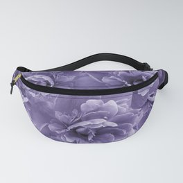 Ultra Violet Peony Flower Bouquet #1 #floral #decor #art #society6 Fanny Pack