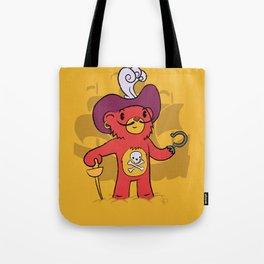 Captain Bear Hook Tote Bag