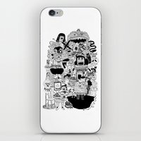 doom iPhone & iPod Skins featuring KIDS DOOM by WASTED RITA