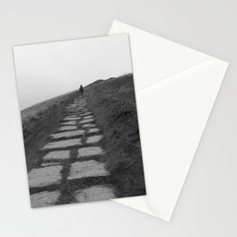 Climbing Mam Tor Stationery Cards