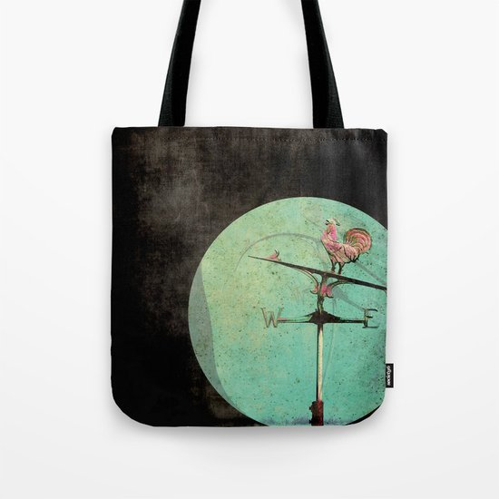 The Tale of a Weathervane Tote Bag
