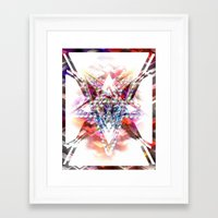 baphomet Framed Art Prints featuring Baphomet by NISHIKIN