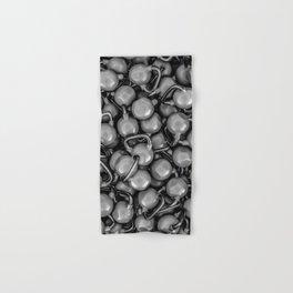 Kettlebells B&W Hand & Bath Towel