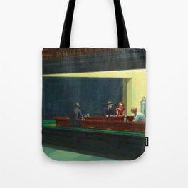 Nighthawks by Edward Hopper Tote Bag