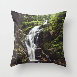 Wild Water - Landscape and Nature Photography Throw Pillow